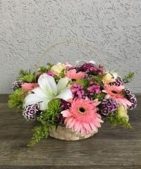 Sepette Mevsim Çiçekleri